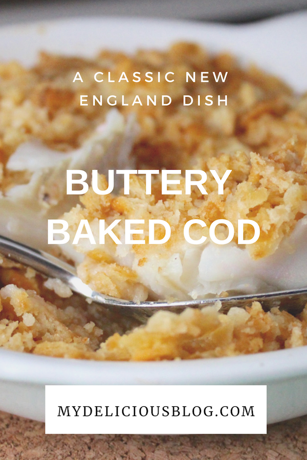 Buttery Baked Cod