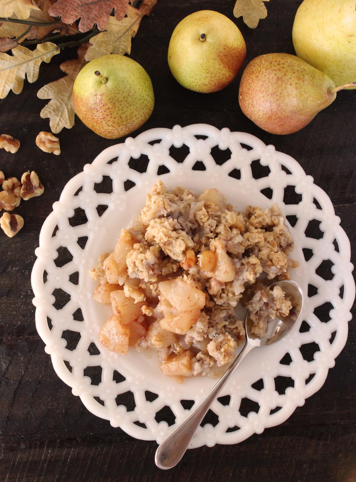 Pear Crisp 1