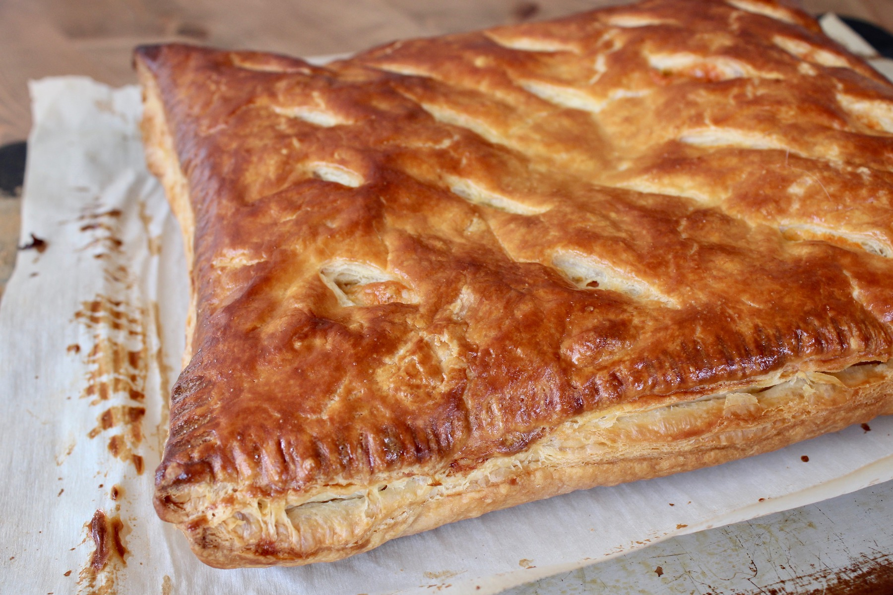 Ham Cheese Puff Pastry Oven