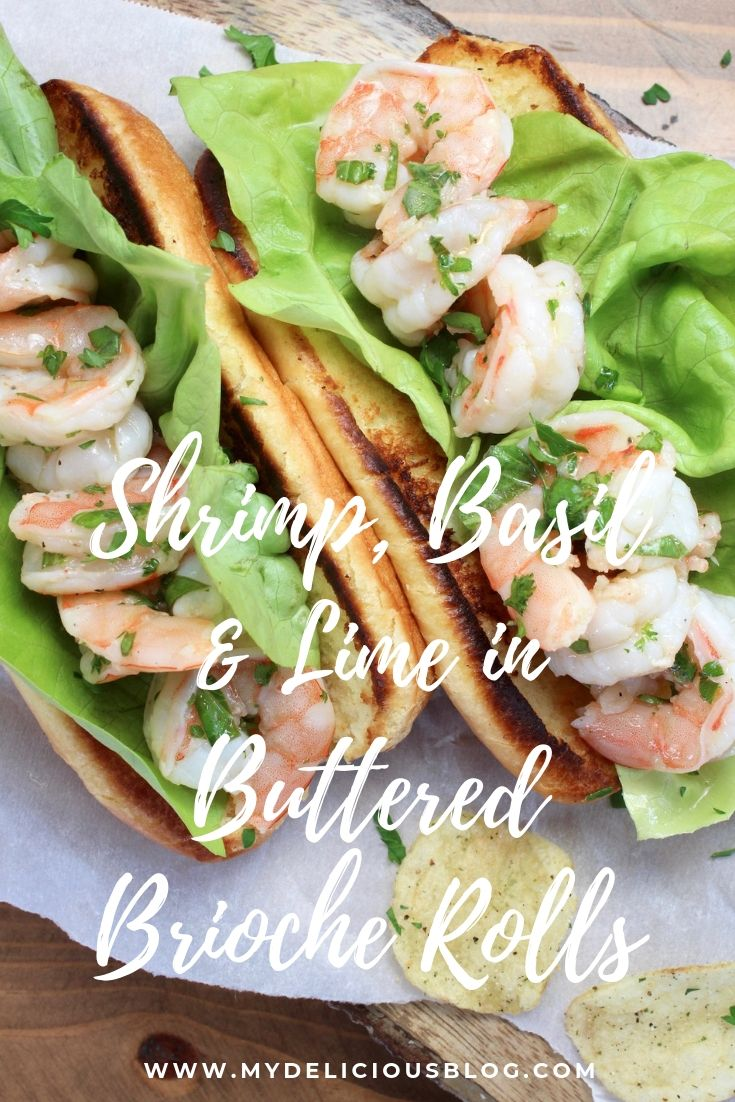 Shrimp Basil Lime Pinterest